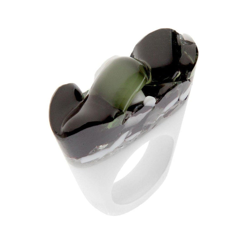 Handcrafted Murano Glass Ring. Women - Jewelry - Rings