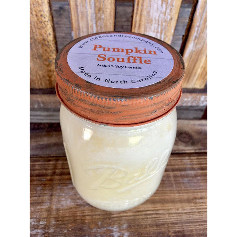 Homewares-Pumpkin Souffle - 16 Oz-Made In The Usa. Home - Candles