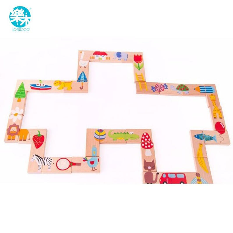 Infants Domino Set In 28Pcs.