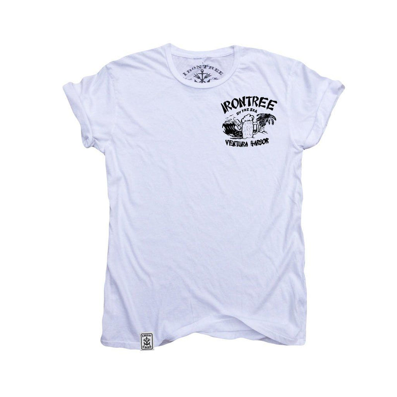 Irontree By The Sea Ll: Organic Fine Jersey Short Sleeve T-Shirt Men - Apparel - Shirts - T-Shirts