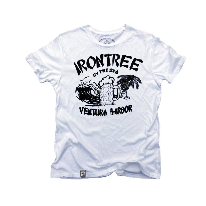 Irontree By The Sea: Organic Fine Jersey Short Sleeve T-Shirt Men - Apparel - Shirts - T-Shirts