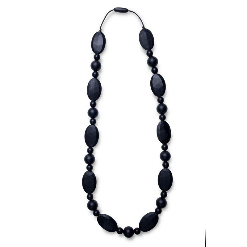 Maxi Teething Necklace Jamess Pebbles Black Women - Jewelry - Necklaces