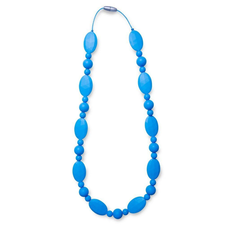Maxi Teething Necklace Jamess Pebbles Blue Women - Jewelry - Necklaces