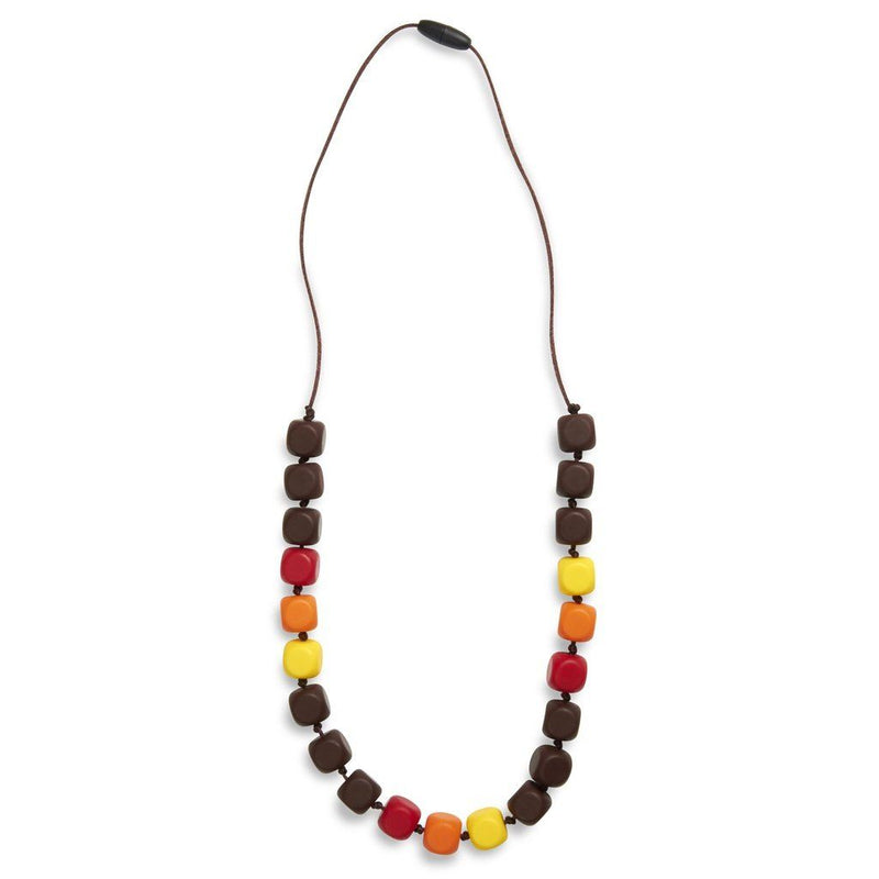 Maxi Teething Necklace Sophies Squares Autumn Women - Jewelry - Necklaces