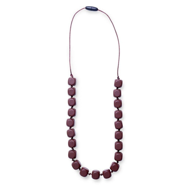 Maxi Teething Necklace Sophies Squares Chocolate Women - Jewelry - Necklaces