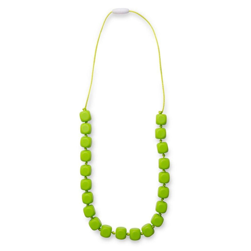 Maxi Teething Necklace Sophies Squares Lime Women - Jewelry - Necklaces