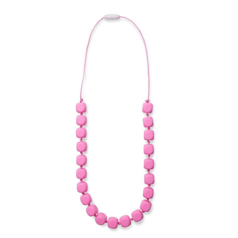 Maxi Teething Necklace Sophies Squares Pink Women - Jewelry - Necklaces