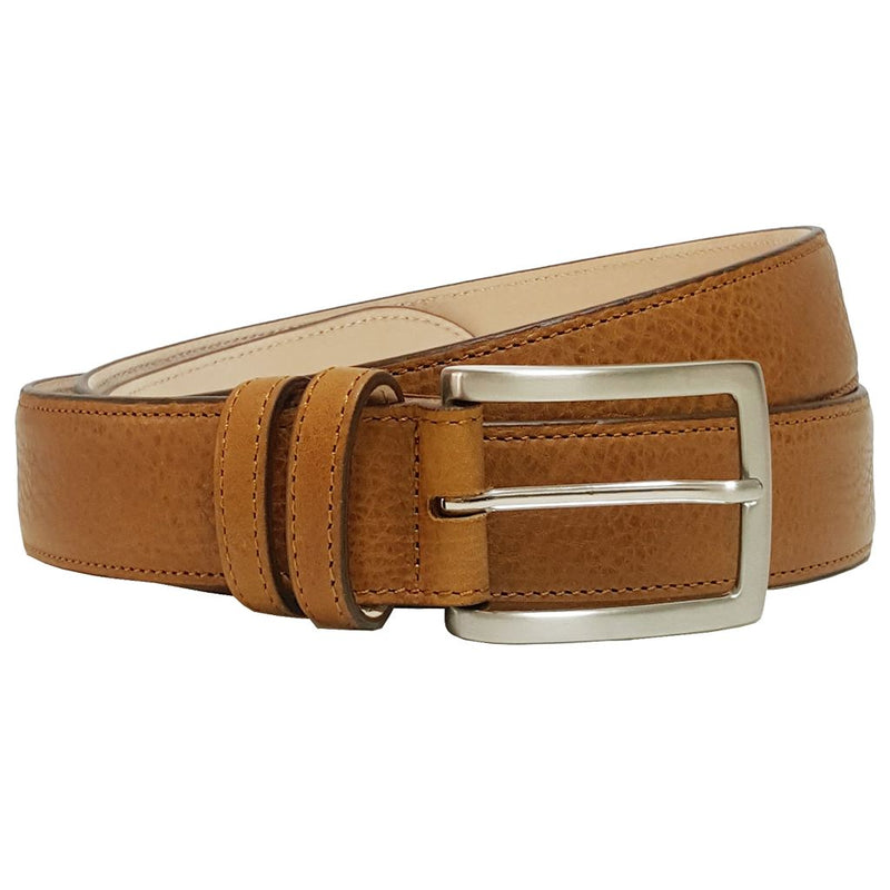 Mens 34 Mm Antiquated Cowhide Belt. Superior Construction. Made In Milan. Men - Accessories - Belts