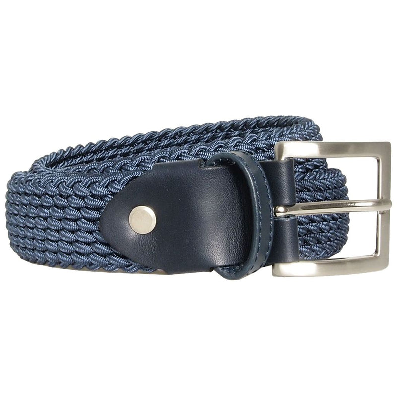 Mens Fashion 30 Mm Leather Trimmed Viscose Belt. Quality Construction. Hand-Made In Italy. Men - Accessories - Belts