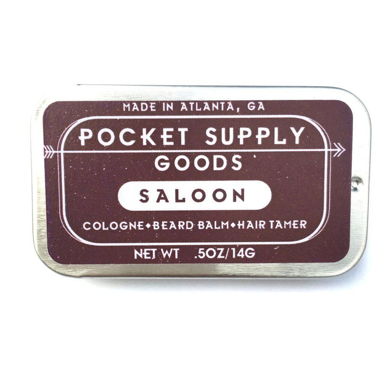 Saloon/bourbon & Pine Scented Grooming Balm Men - Accessories - Hair