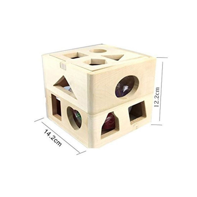 Set Of Toddlers Educational Toys Wooden Building Blocks Will Delight Your Child!