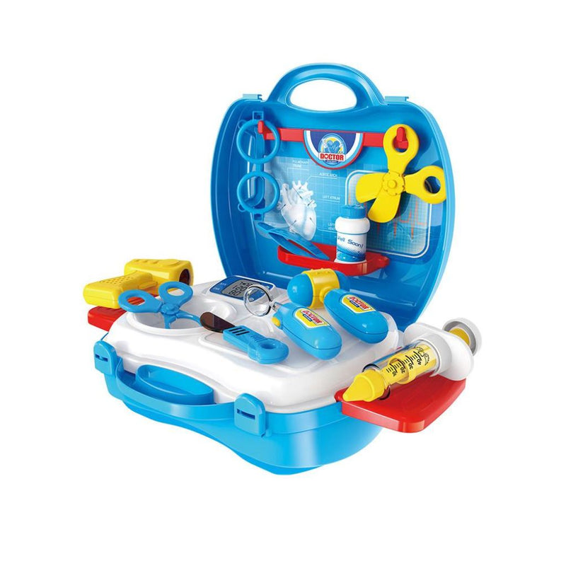 Tool Set In A Handy Suitcase To Keep All The Parts Safe! Blue Doctor