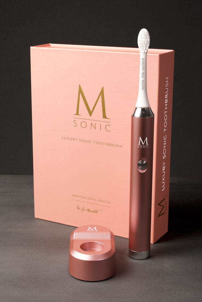 Rose Gold M Sonic Toothbrush