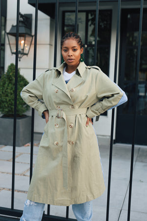 Leah Trench Coat