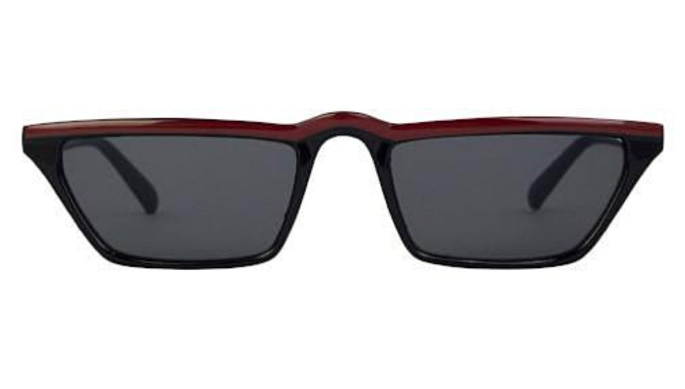 Cora rectangle sunglasses black
