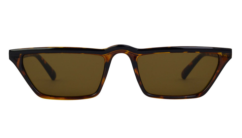 rectangle sunglasses leopard