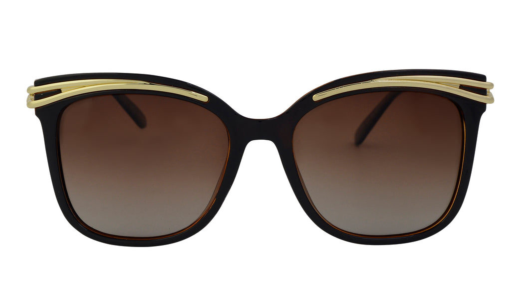 Esther - Modern Cat Eye Brow Sunglasses