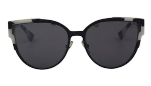 Harriet - Modern Colour Pattern Cat Eye Sunglasses