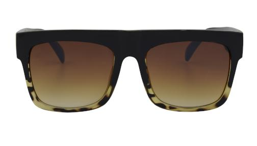 Breezey - Sleek Oversized Aviator Sunglasses