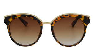 Roxy - Unique Oversized Leopard Sunglasses