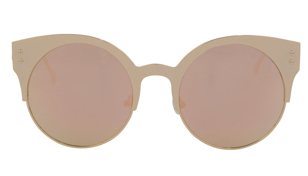 Milly - Exquisite Cat Eye Round Sunglasses