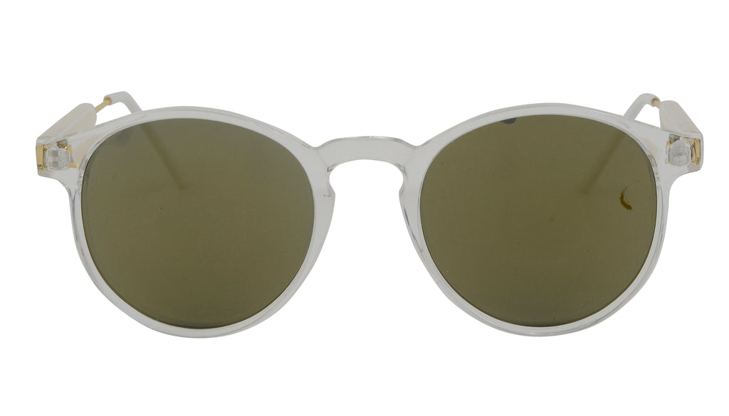 Shanny - Remarkable Round Vintage Sunglasses