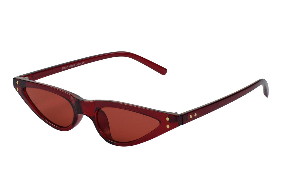 Ruby - Retro Slim Silhouette Sunglasses