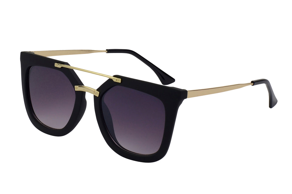 Leah - Perfect Oversized Cat Eye Sunglasses