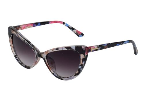 Clare - Retro Cat Eye Silhouette Sunglasses