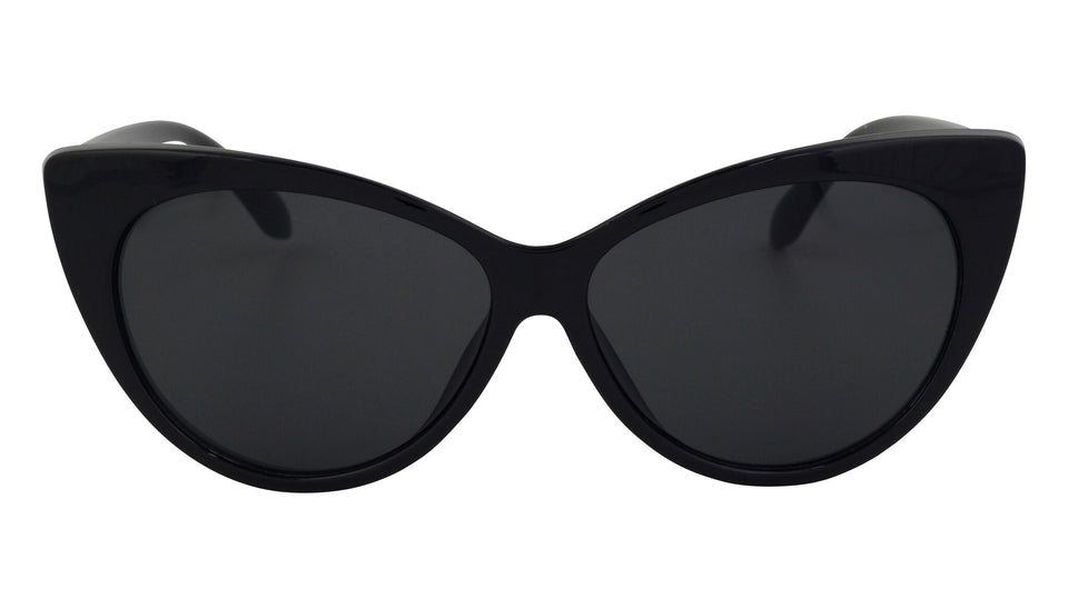 Selena - Stylish Slim Cat Eye Sunglasses
