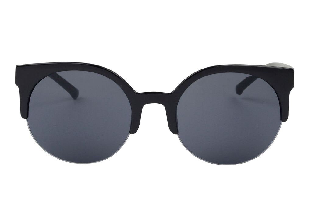 Yara - Vintage Indie Round Circle Cat Eye Sunglasses