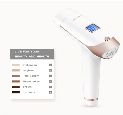 PL Epilator Permanent Laser Hair Removal With LCD Display
