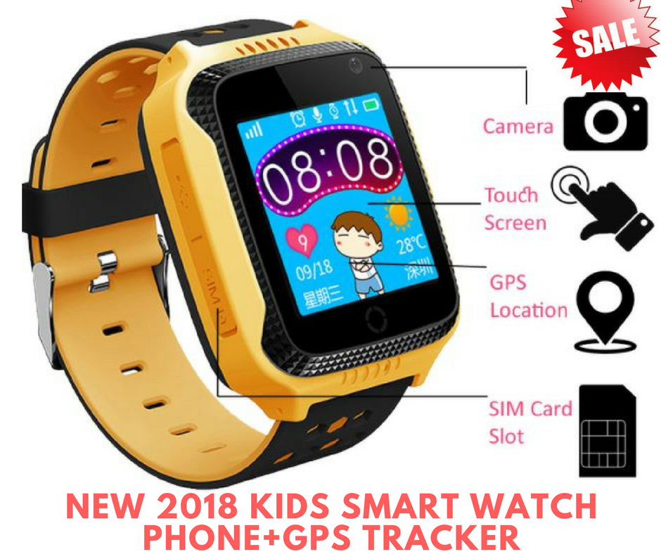 Tap to expand Best 2018 New Kids Smart Watch GPS Tracker, Phone Support SIM Card
