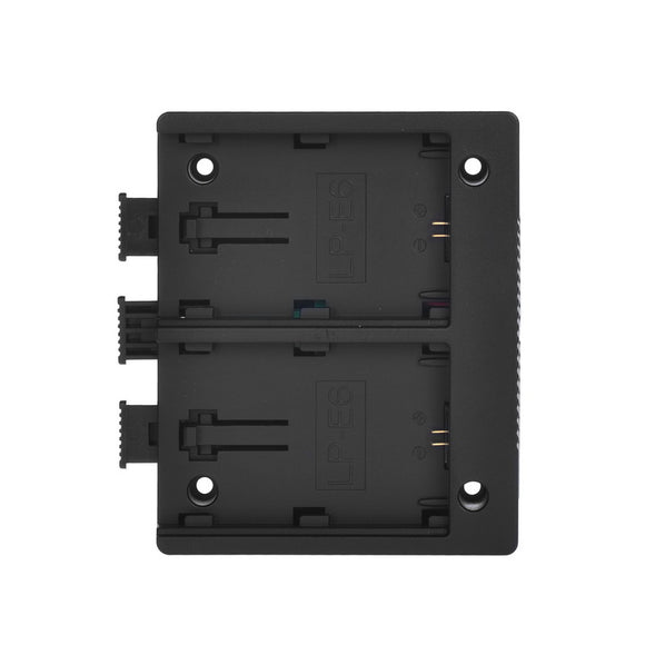 LP-E6 Battery Plate for MustHD On-camera Field Monitor (LP-E6)