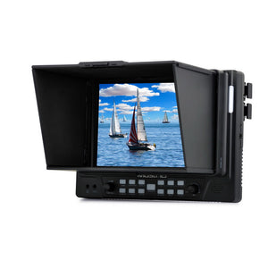 "MustHD 7"" 1920x1200 Full HD HDMI On-camera Field 4K Monitor for Professional Videographers with HDMI Input/Output (M702H)"
