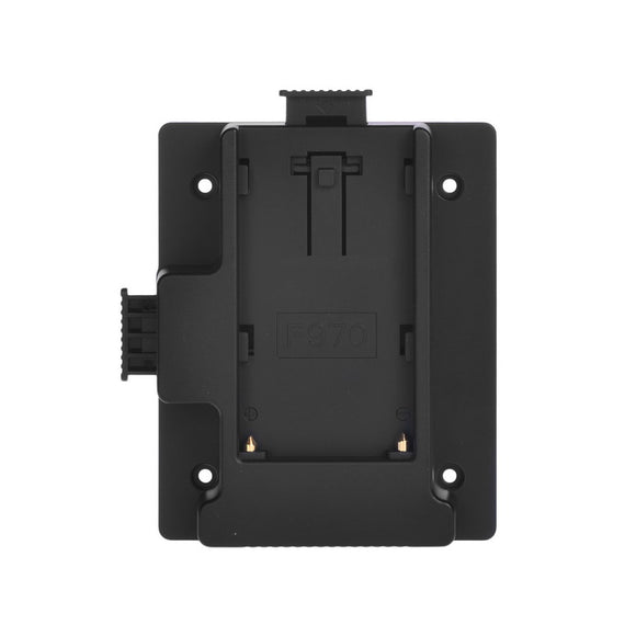 F970 Battery Plate for MustHD On-camera Field Monitor (F970)