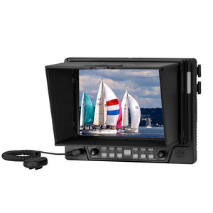 "MustHD 7"" 1920x1200 Full HD 3G-SDI Field Monitor [4K] for Professional Videographers with HDMI/SDI Input/Output (M702S)"