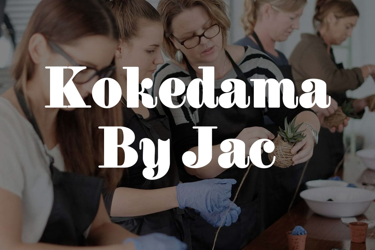 Five Minutes With Kokedama By Jac