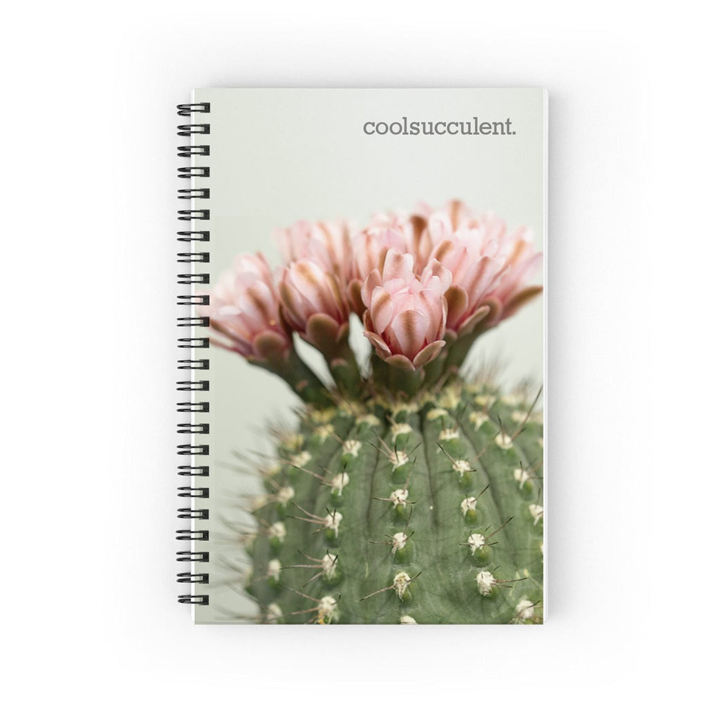 Blooming Cactus Notebook