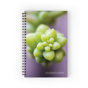 Sedum Burrito Notebook Front Cover