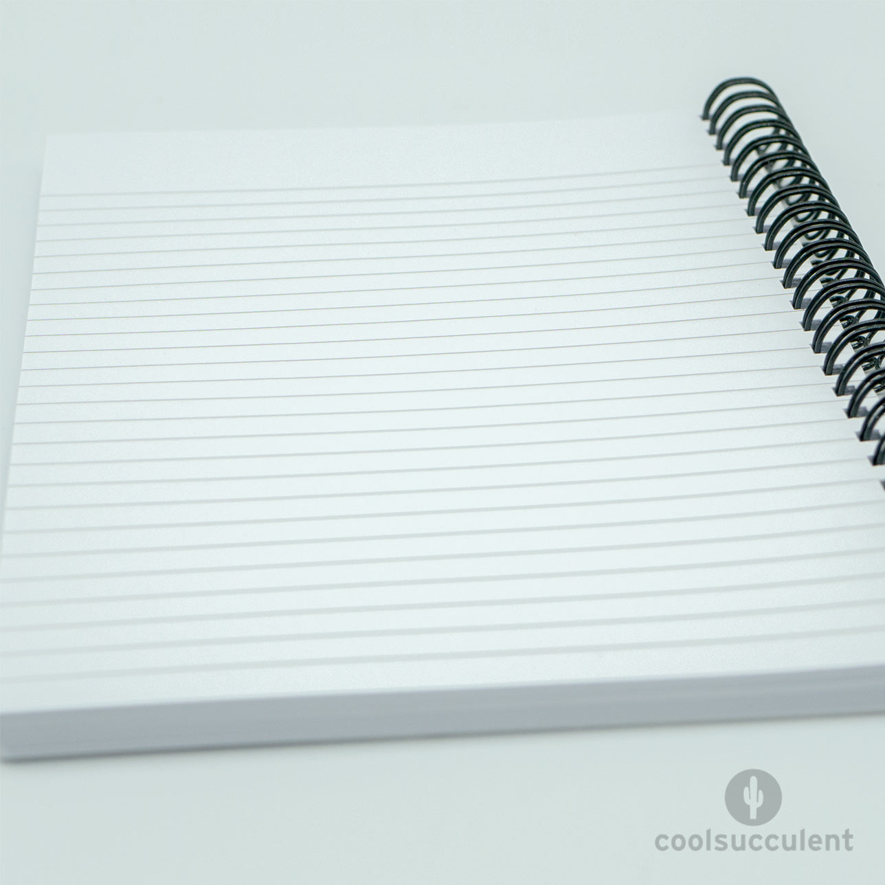 Notebook lined pages