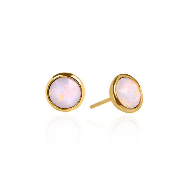 Alaia Opal Stud Earrings