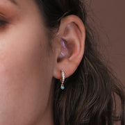 Antiope Huggie Earrings