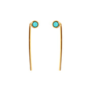 Charlotte Turquoise Threaders