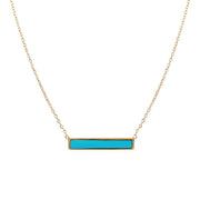 Block Bar Necklace