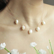 Staycation Pearl Necklace