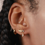 Harriet Stud Drop Earrings