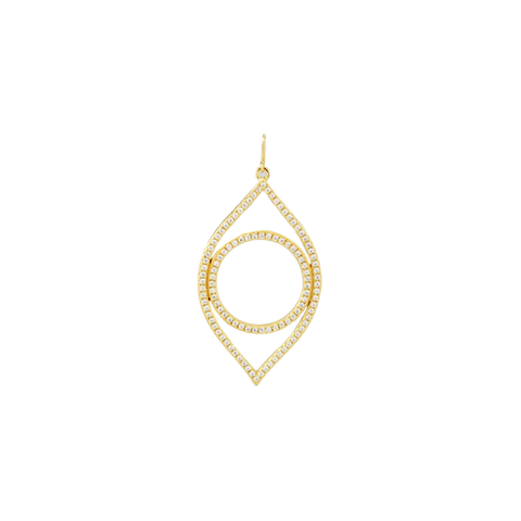 Horseshoe Necklace Charm