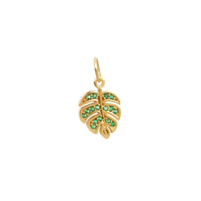 Monstera Leaf Pendant