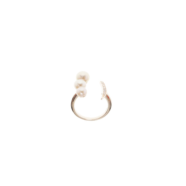 Nicole Pink Pearl Ring